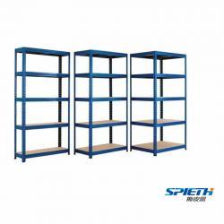 Warehouse Storage Light Duty Boltless Rivet Shelving