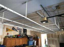 Adjustable Overhead Ceiling Garage Storage Racks