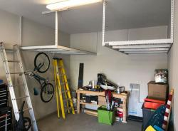 Adjustable Overhead Ceiling Garage Storage Racks