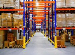 Selective Pallet Racking With Upright Protector Warehouse System