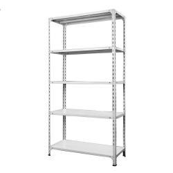 Slotted Angle Shelving Sheet Metal Storage Rack