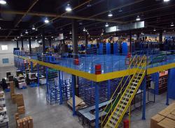 Mezzanine Rack Warehouse Industrial Steel Flooring Systems for Factory Pallet